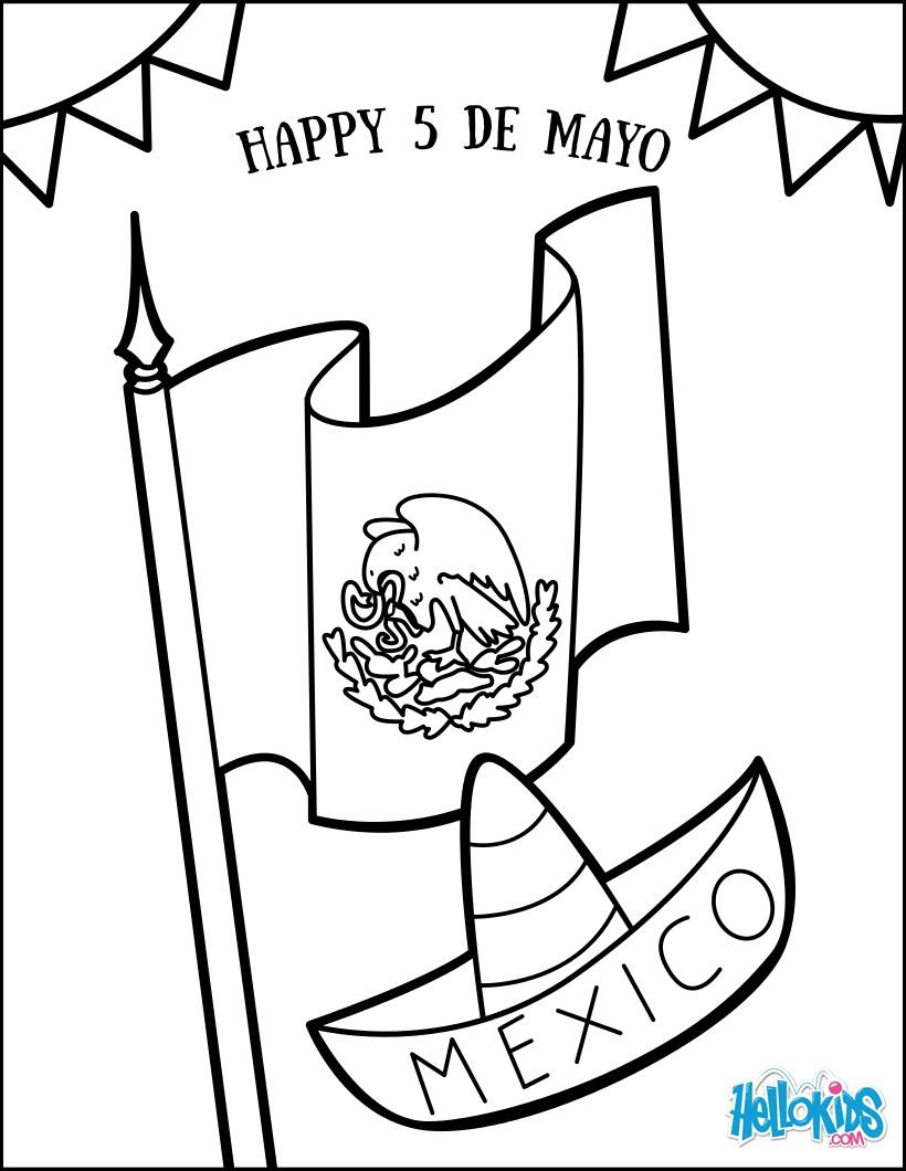 Dibujos para colorear flag - es.hellokids.com