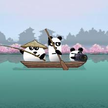 Juego para niños : 3 Pandas In Japan