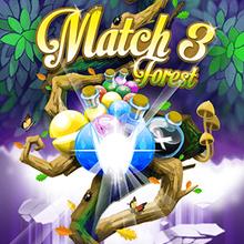 Juego para niños : Match 3 Forest