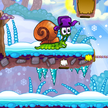 Juego para niños : Snail Bob 6