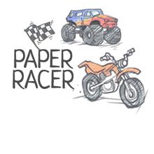 Juego para niños : Paper Racer