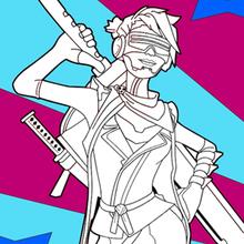Dibujo para colorear : Fortnite 2