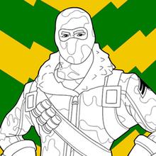 Dibujo para colorear : Fortnite 3
