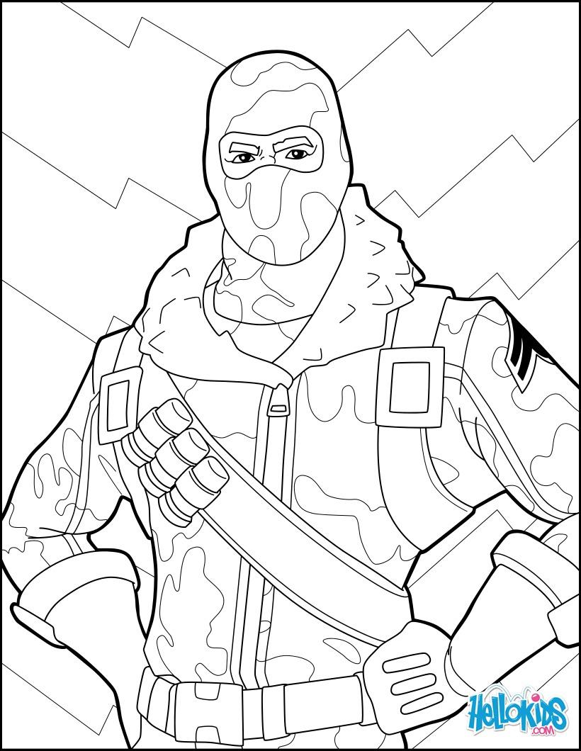 Dibujos Para Colorear Fortnite 3 Eshellokidscom