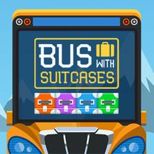 Juego para niños : Bus with Suitcases