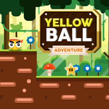 Juego para niños : Yellow Ball Adventure