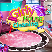 Juego para niños : Girly House Cleaning