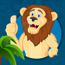 Juego para niños : Strong Lions Jigsaw