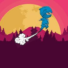 Juego para niños : Jumping Ninjas
