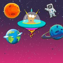 Juego para niños : Space Friends