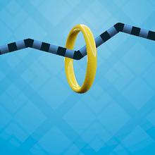 Juego para niños : Wire Hoop