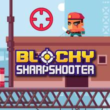 Juego para niños : Blocky Sharpshooter