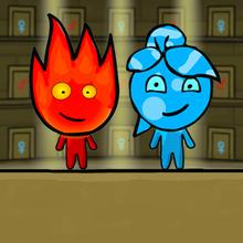 Juego para niños : Fireboy & Watergirl: Forest Temple