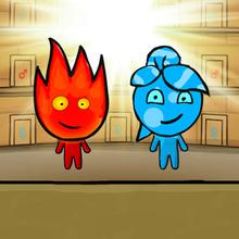 Juego para niños : Fireboy & Watergirl: Light Temple