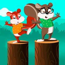 Juego para niños : Fun with Squirrels