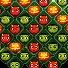 Juego para niños : Halloween Swipe Out