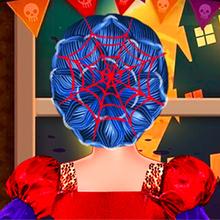 Juego para niños : Ladybug Halloween Hairstyles