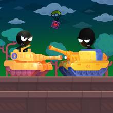 Juego para niños : Stick Tank Wars