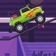 Juego para niños : Monster Truck Driving