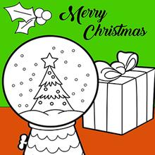 Dibujo para colorear : Regalos de Navidad