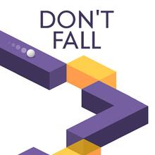 Juego para niños : Don't Fall
