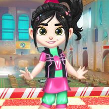 Juego para niños : Vanellope Princess Makeover