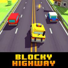 Juego para niños : Blocky Highway