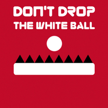 Juego para niños : Don't Drop The White Ball
