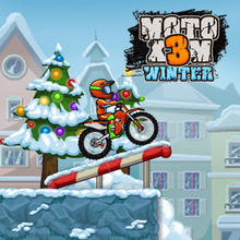 Juego para niños : Moto X3M Winter