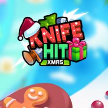 Juego para niños : Knife Hit Xmas
