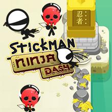 Juego para niños : Stickman Ninja Dash