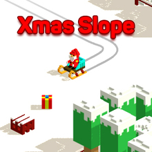 Juego para niños : Xmas Slope