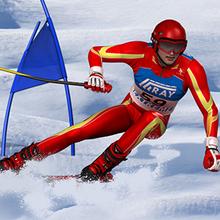 Juego para niños : Slalom Ski Simulator