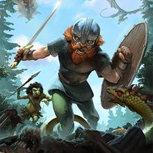 Juego para niños : Mighty Viking