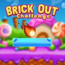 Juego para niños : Brick Out Challenge