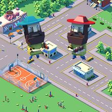 Juego para niños : Cube City Wars