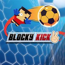 Juego para niños : Blocky Kick 2