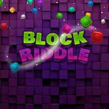 Juego para niños : Block Riddle