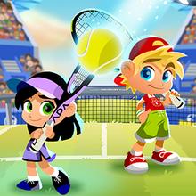 Juego para niños : Crazy Tennis Online