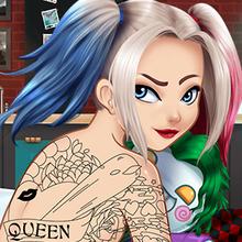 Juego para niños : Carley Fun Tattoo