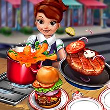 Juego para niños : Cooking Fast: Hotdogs and Burgers