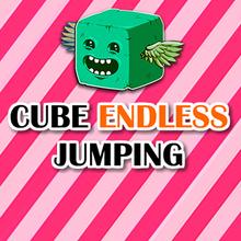 Juego para niños : Cube Endless Jumping