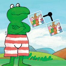 Juego para niños : Frog Connect
