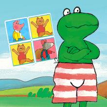 Juego para niños : Frog Memo