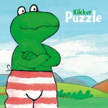 Juego para niños : Frog Puzzle