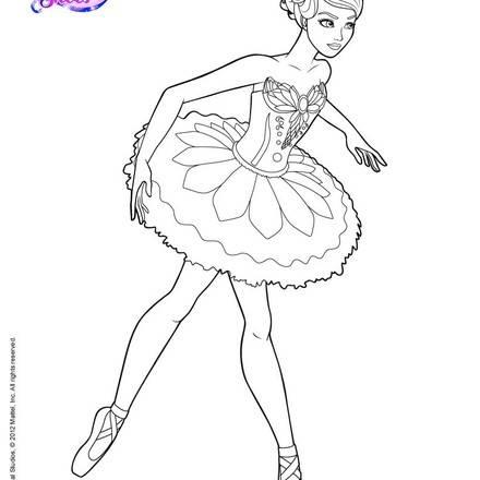 Dibujos de DANZA BALLET para colorear, bailarinas preparandose ...