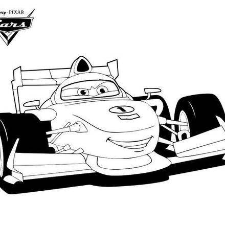 Boceto de cars 2 para colorear imagui - Car coloriage ...