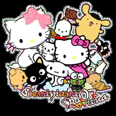 hello kitty friends pictures. HELLO KITTY ME ENCATAA[!]