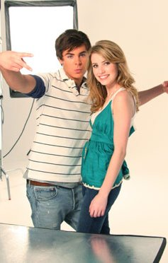 emma roberts and zac efron