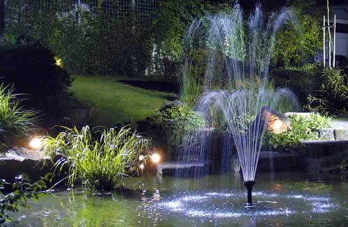 fotos con una variedad de estanques que puedes montar en tu jardín